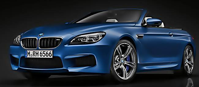 2016 BMW M6 Convertible Highlight Configuration