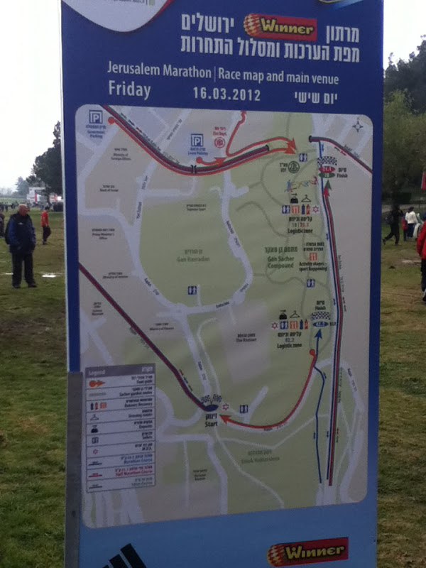 Huntsmans in the Holy Land Jerusalem Marathon
