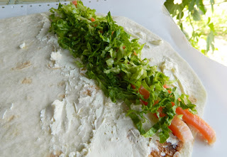 Сэндвич-ролл из лаваша