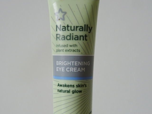 Superdrug Naturally Radiant Brightening Eye Cream Review | Beauty and The Boy - Scottish Beauty Blog