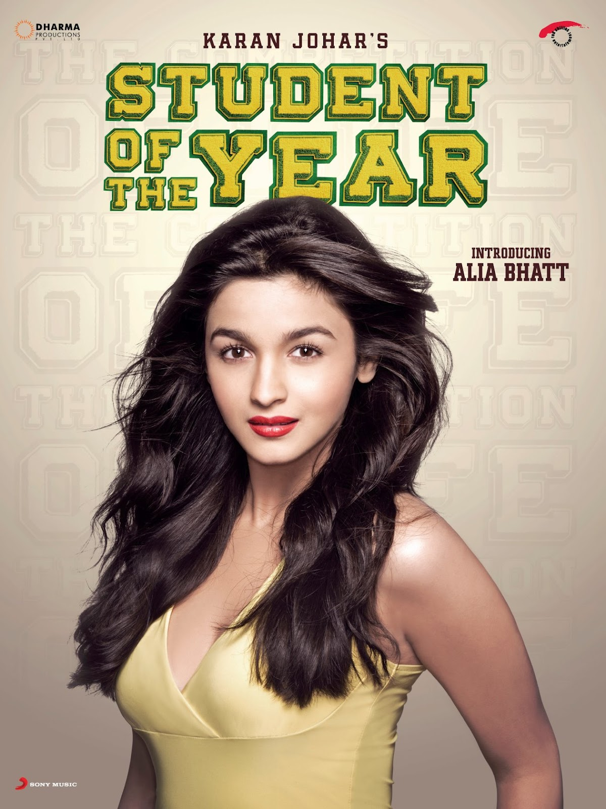 First Look Posters Introducing Alia Bhatt