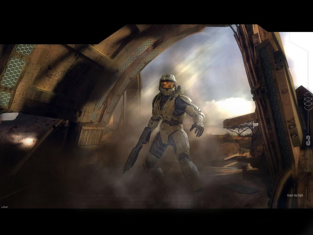 Halo HD & Widescreen Wallpaper 0.541214071386879