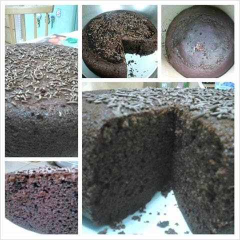 how to cook chocolate cake in rice cooker