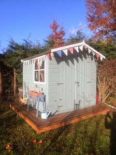 Turning our garden shed into a Playhouse