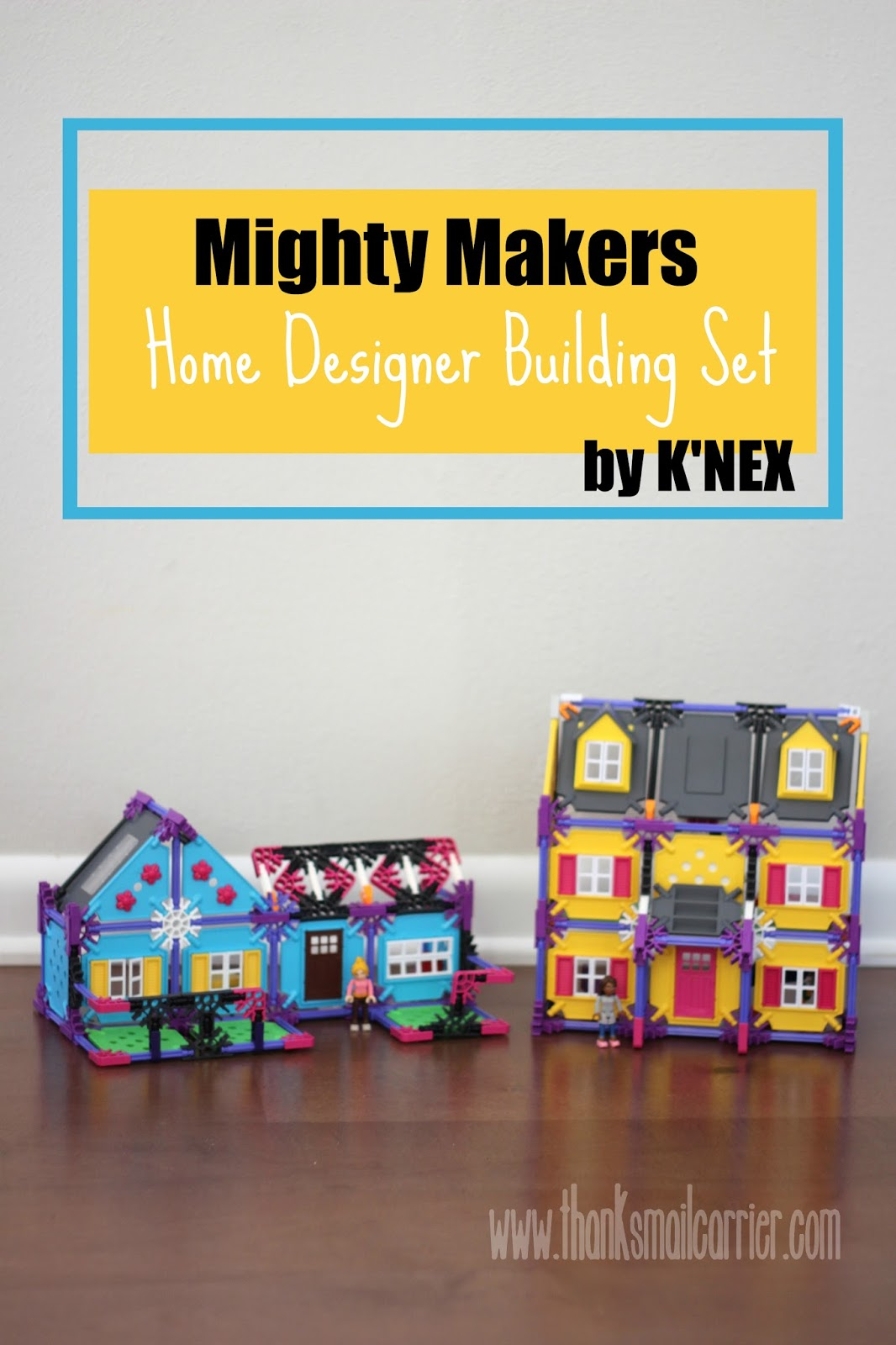 K'NEX Mighty Makers Home Designer Building Set