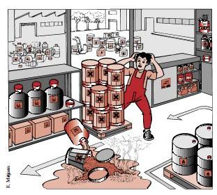 Almacenamiento,Sustancias,Quimicas,Caso Practico