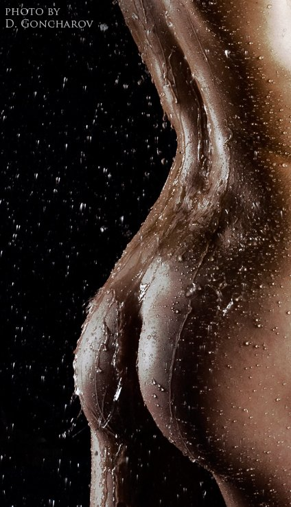 denis goncharov fotografia mulheres modelos nuas peladas molhadas água sensual
