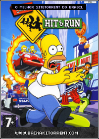 Capa Simpsons Hit And Run PC Torrent Baixaki Download
