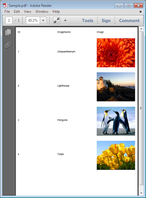 Export Gridview to PDF in ASP.Net with Image