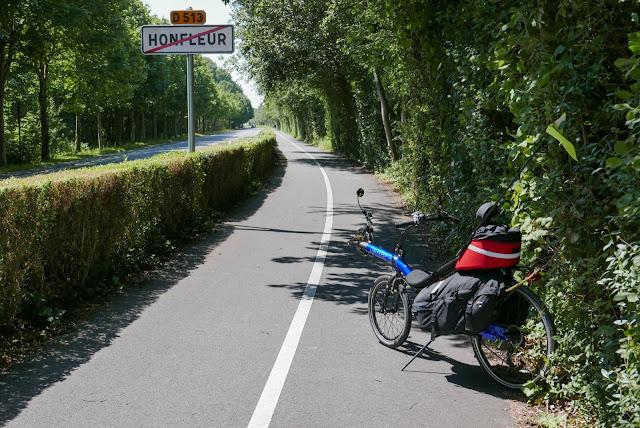 Randonnée à vélo : Honfleur