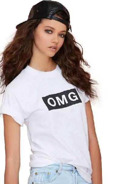"HG082 ""OMG"" Statement Tee"
