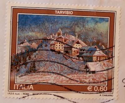francobollo TARVISIO serie Senza confini