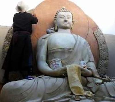 Kashmir restores Buddhist sites to promote pilgrimage tourism