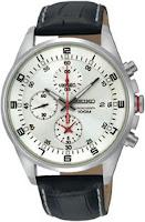 Quartz Chronograph Tachymeter Silver Tone