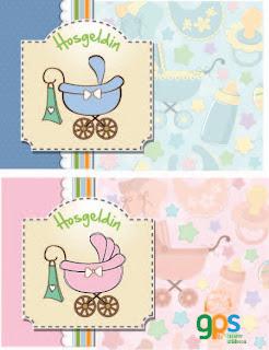 baby shower bebek partisi davetiye erkek kız