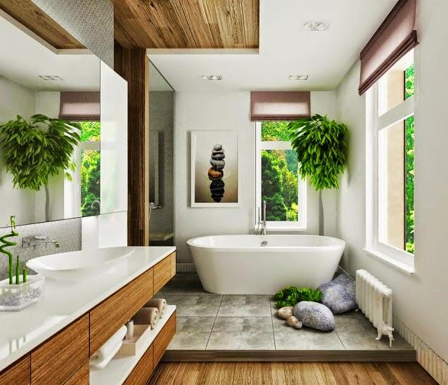 desain furniture kamar mandi minimalis