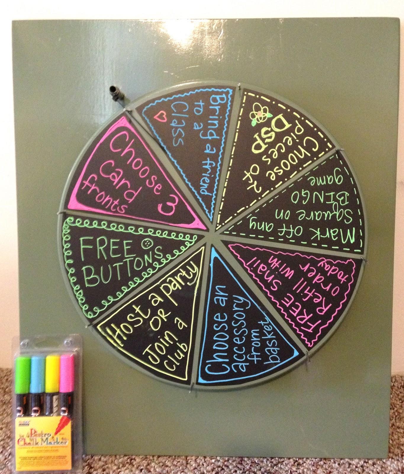 build prize wheel