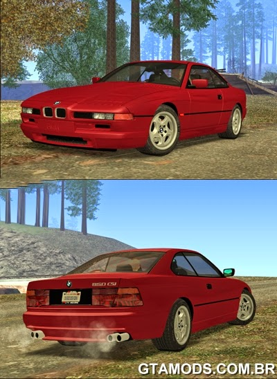 BMW E31 850CSi 96 - Stock