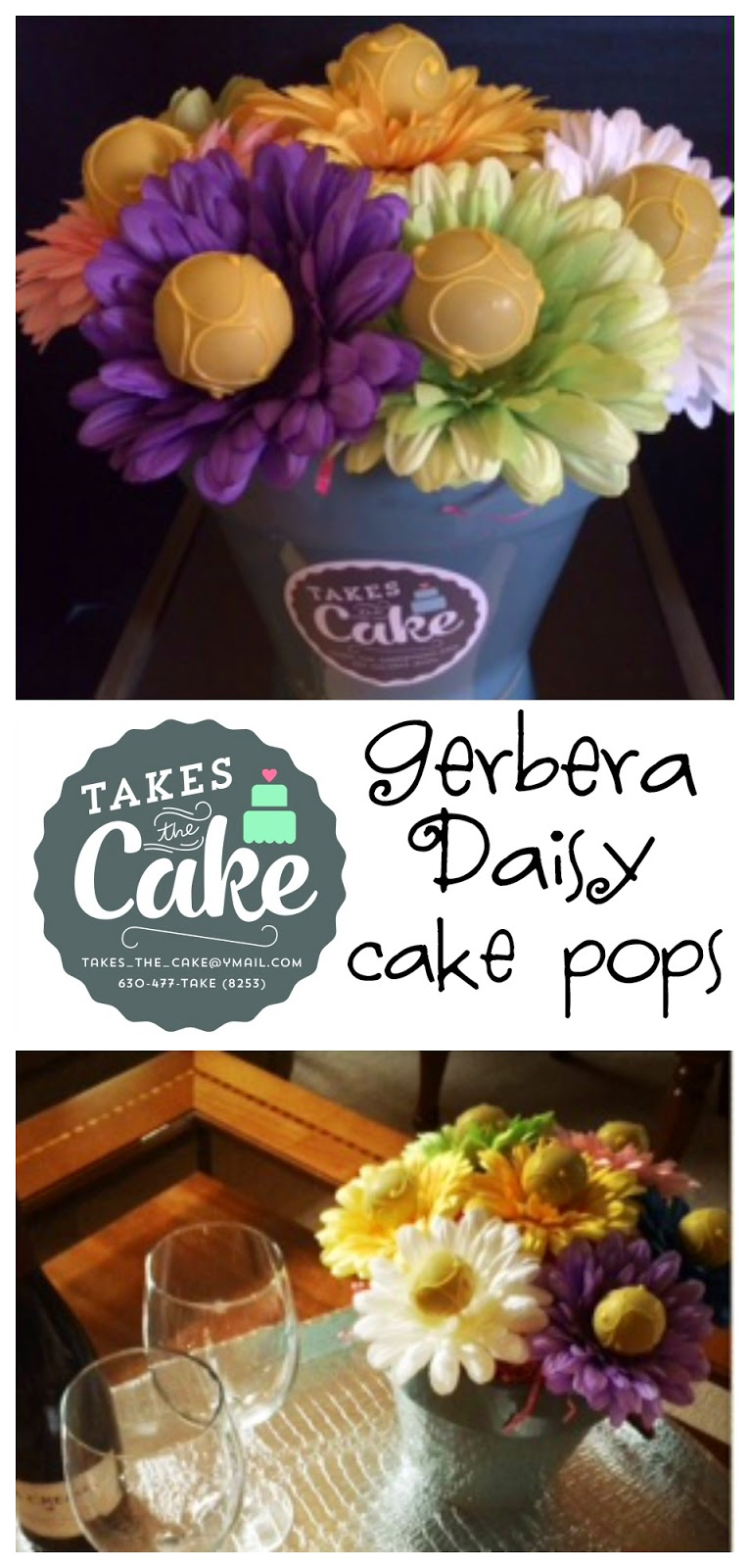 How to make gerbera daisy cake pops pint sized baker with summer in full swing and plenty of bbqs and parties to enjoy we wanted to share a fun and easy way to make the perfect host or hostess gift izmirmasajfo