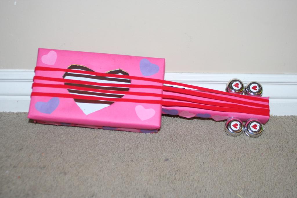 Creative Valentine Box #8   Valentines Heart Guitar