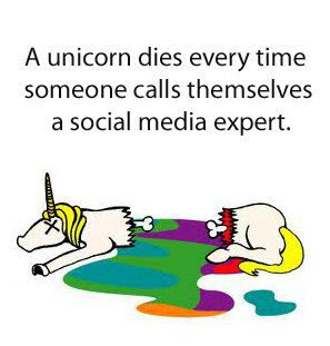 A Unicorn Dies Every Time Someone Calls Themselves a Social Media Expert