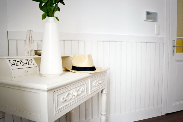 martha s living deco meine neue wandverkleidung 42. Black Bedroom Furniture Sets. Home Design Ideas