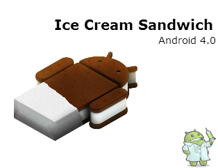 Versões do Android: Ice Cream Sandwich