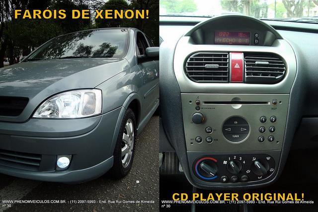 Chevrolet Corsa Sedan 2003 - faróis XEON