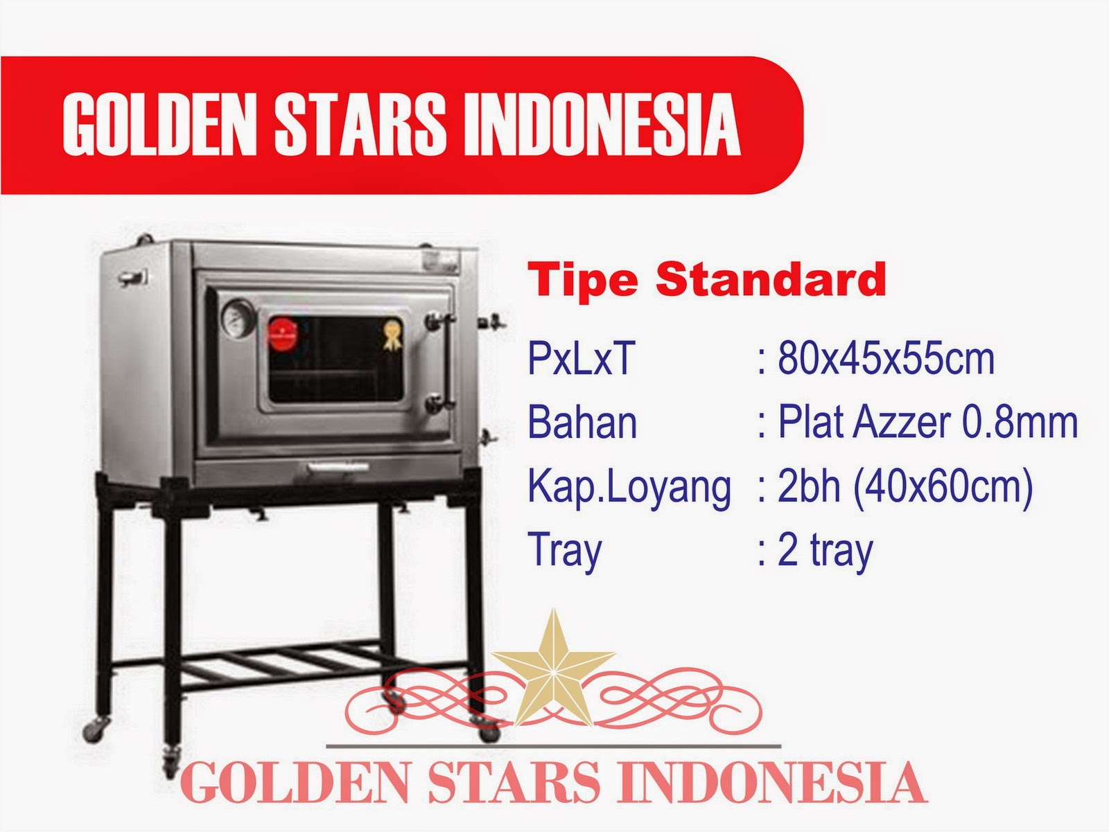 "Daftar Harga Oven Gas ""Golden Stars"" ~ Oven Gas Golden Stars"