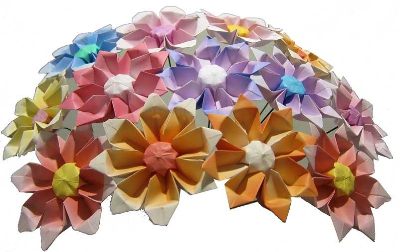 Origami Maniacs Gerbera Flower