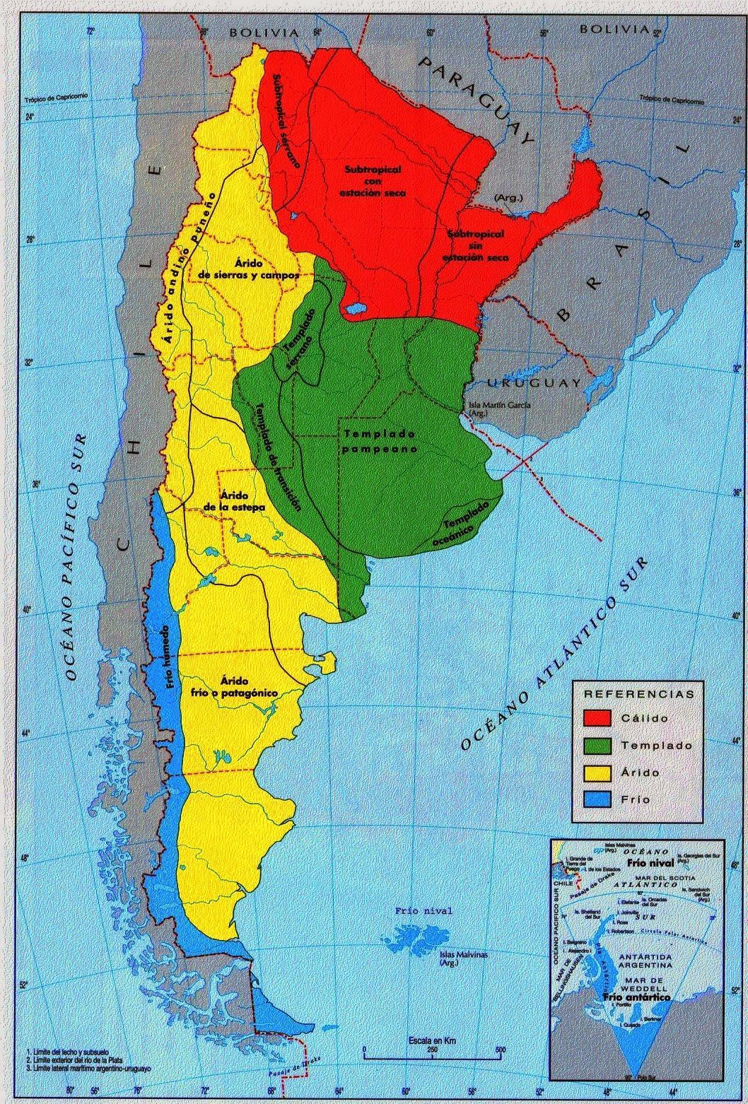 geograf a de argentina ambientes de la argentina