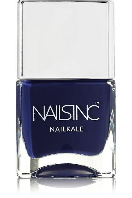 nails inc dark blue