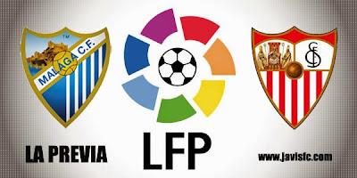Previa Málaga CF Vs Sevilla FC