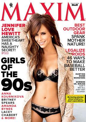 Дженифър Лав Хюит за Maxim: Не съм никак срамежлива!