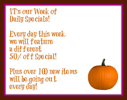 Specials This Week Only!