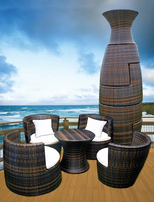outdoor furniture reviews amazon deeco all weather wicker furniture set