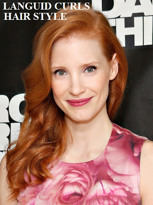 latest-hair-trends-jessica-chastain-celebrities hair