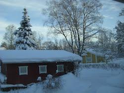 Kylmä ja luminen joulu 2012