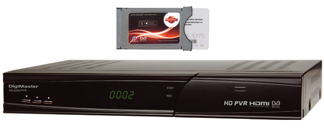 Goldmaster HD 5000 PVR Uydu Alıcı