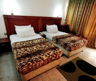 Lagos Airport Hotel Twin Bedded Room