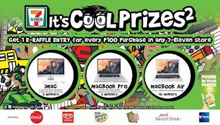 7-Eleven Philippines Promo, prizes, Philippine promotion contest