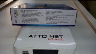 Atualização para o receptor Atto Net i-Smart Android