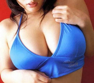 women large looking Good breasts with
