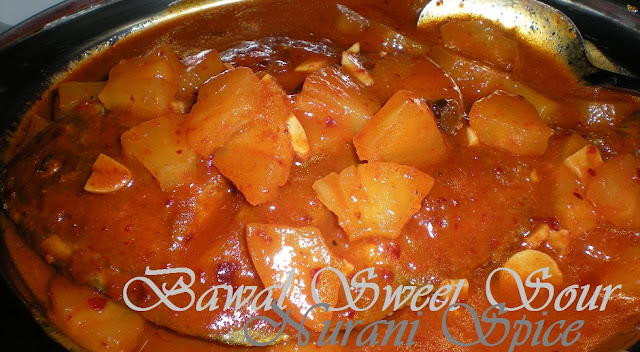BAWAL SWEET SOUR... NURANI SPICE.. COOK LIKE A MASTER CHEF