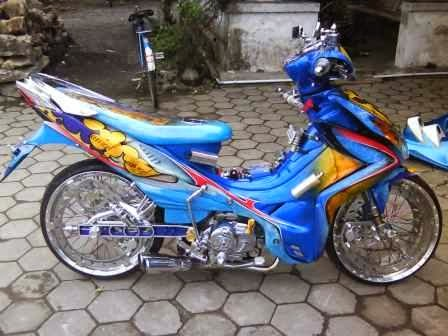 Cara Modifikasi Motor Jupiter Z Ala Drag Race