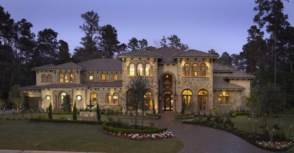Homes amp mansions stone amp stucco mansion for sale in the woodlands tx