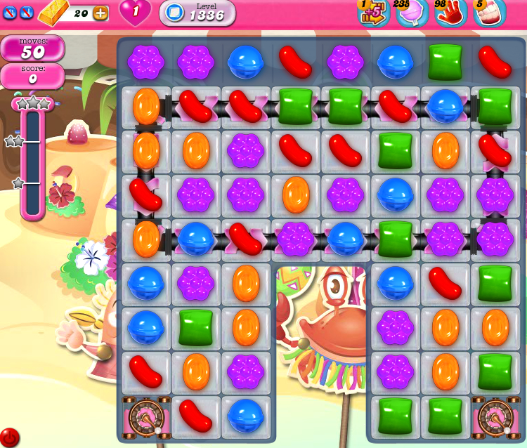 Candy Crush Saga 1336