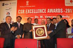 ASSOCHAM CSR Excellence Award to Hindustan Zinc