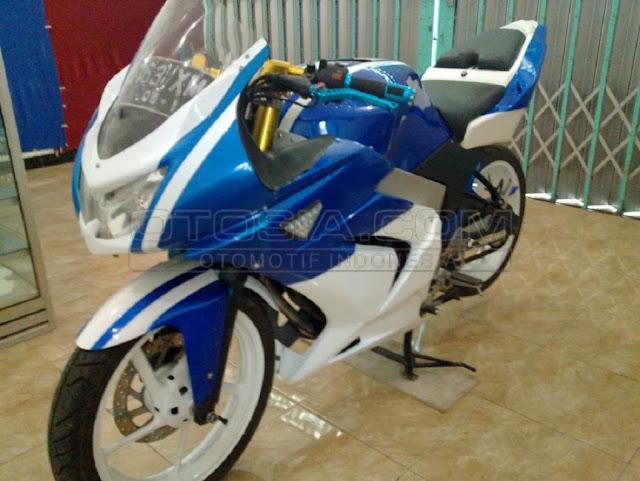 Hasil Modif Yamaha Byson