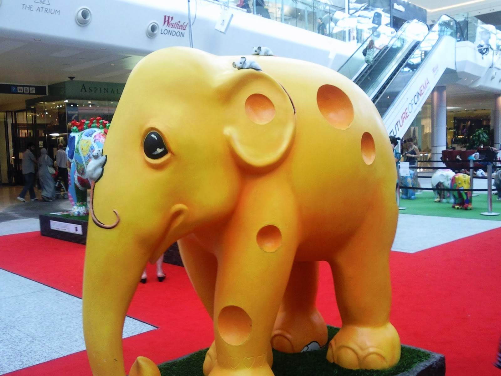 A Piece of Cheese in Westfield London